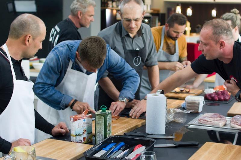 teambuilding interaktivni ve food atelier ostrava